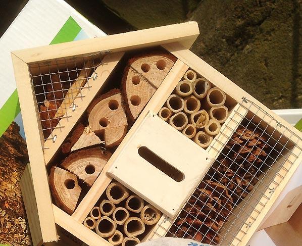 Byg et insekthotel til din lille have