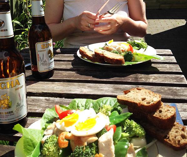 Spis ude i din lille have