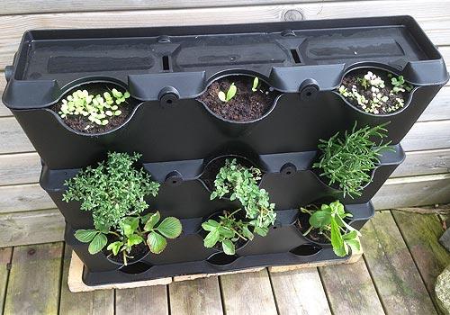 Minihavevægge er gode til din lille have